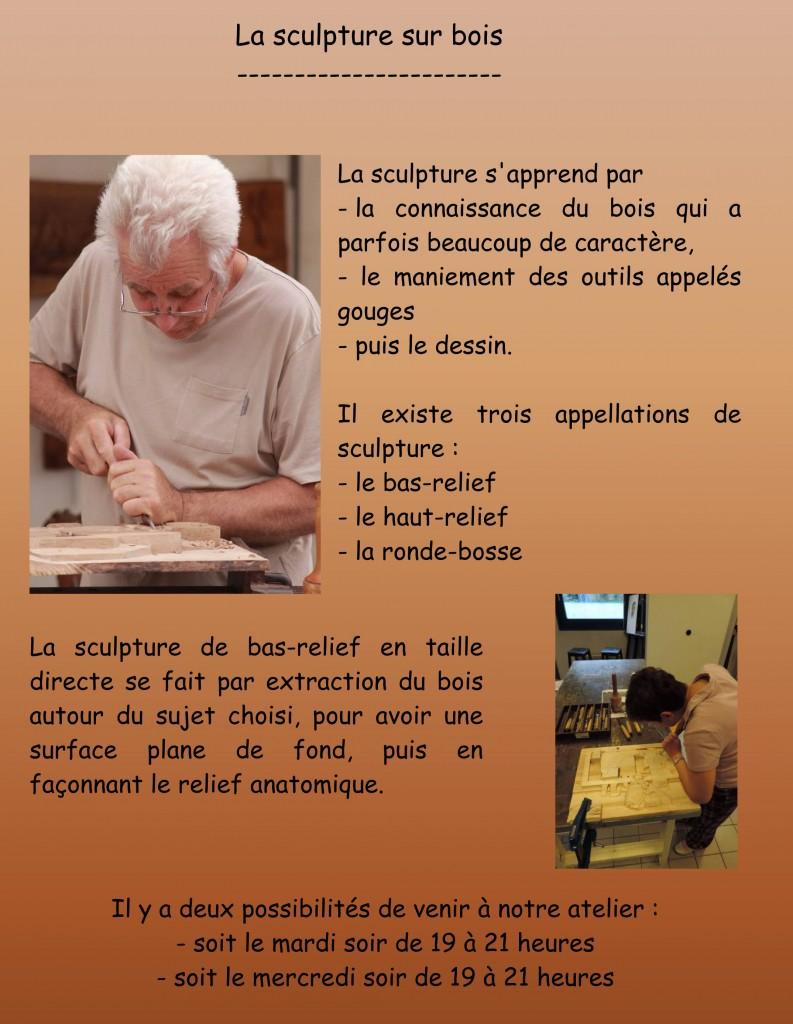 Microsoft Word - La sculpture sur bois.doc
