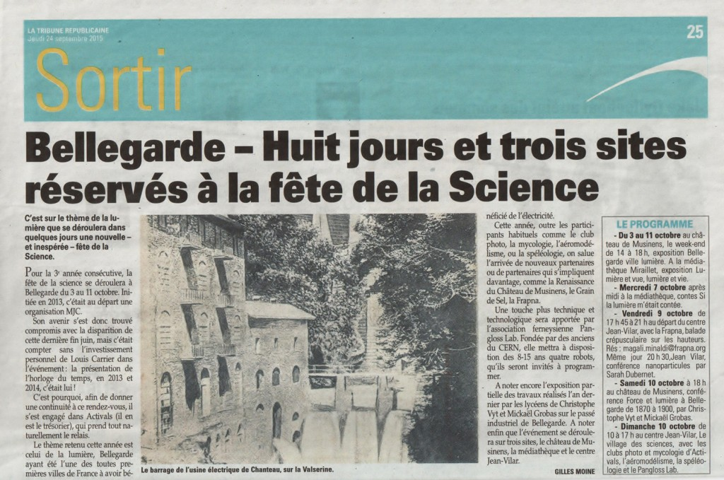 presse fete de la science red