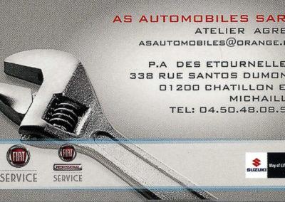 carte AS Automobiles
